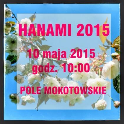 Zaproszenie naWarszawskie Hanami 2015