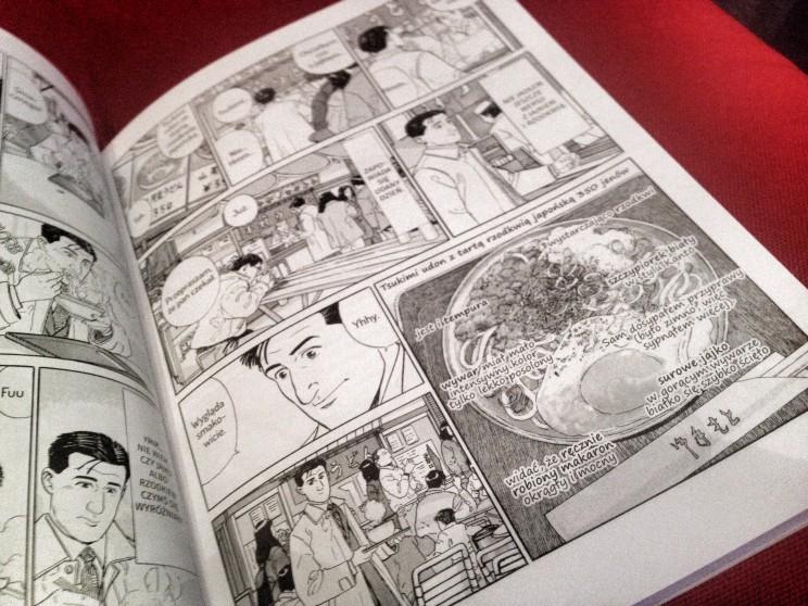 Fragment historyjki opotrawie tsukimi udon / Samotny Smakosz