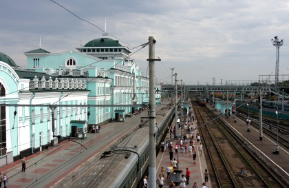 Podróż Koleją Transsyberyjską: Syberia Wyprawa Zaćmieniowa - Dzień 4: Omsk - Barabińsk - Nowosybirsk