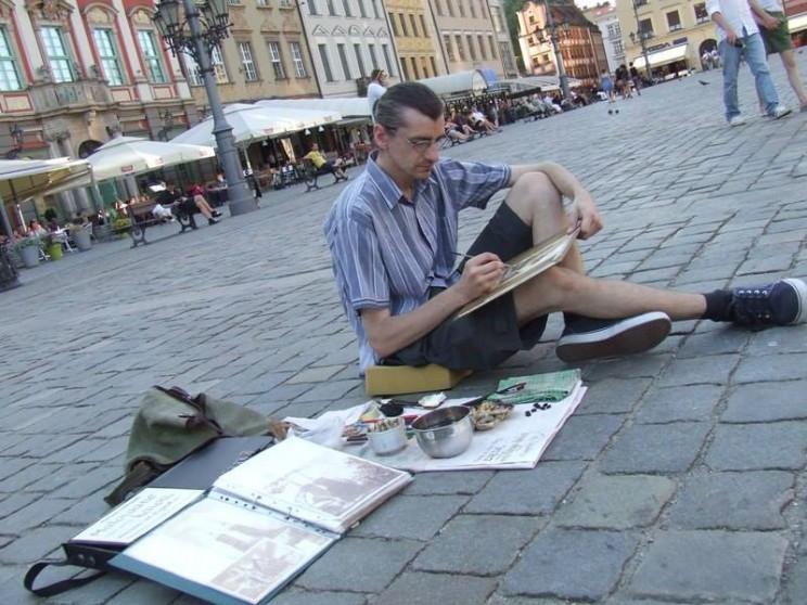 Mariusz Goslawski czaruje kawą Wrocław