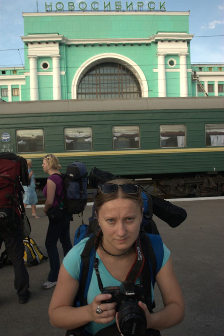 Podróż Koleją Transsyberyjską: co warto wiedzieć oTranssibie - dworzec wNowosybirsku