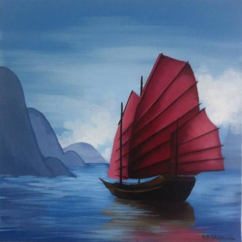 Marta Achtabowska: Chińska łódź
