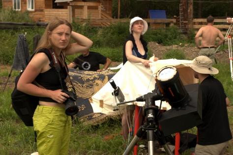 Czemal, Ałtaj, Syberia, Rosja (Podróż Koleją Transsyberyjską,Transsibem nadBajkał, pełne zaćmienie słońca 2008)