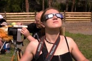 Podróż Koleją Transsyberyjską: Syberia Wyprawa Zaćmieniowa - Dzień 7: pełne zaćmienie słońca (1 lipca 2008)