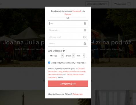 Airbnb_loginAirbnb - co tojest, jak działa idlaczego warto korzystać