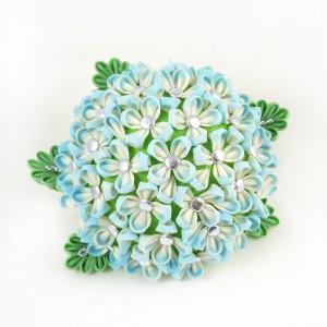 Pasjonaci kultury japońskiej: Kinga Owczarska - kwiaty jedwabiem malowane