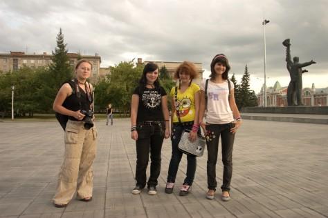 Площадь Ленина в Новосибирске - Plac Lenina wNowosybirsku