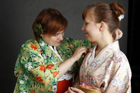Olga Mazurkiewicz / Yorokobi no kōen - Ogród Radości (kitsuke)
