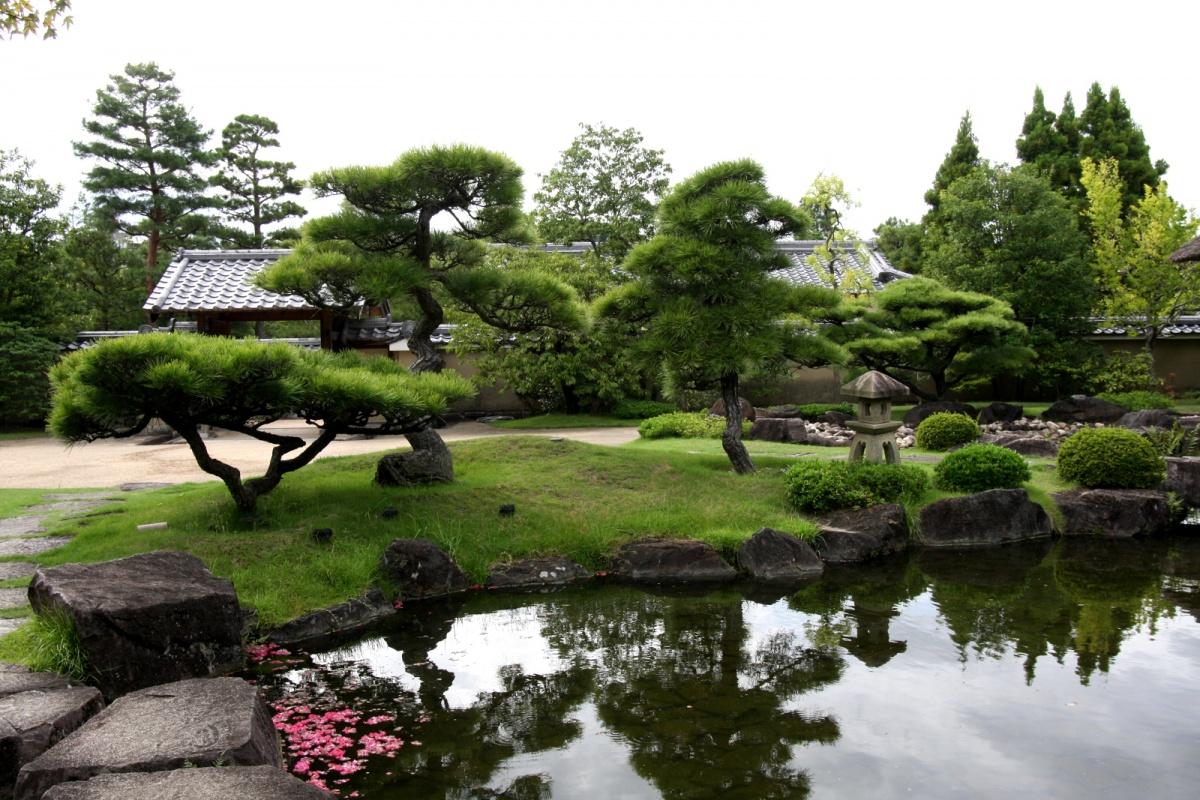 Japońskie przysłowia (nazdjęciu ogród japoński wHimeji)