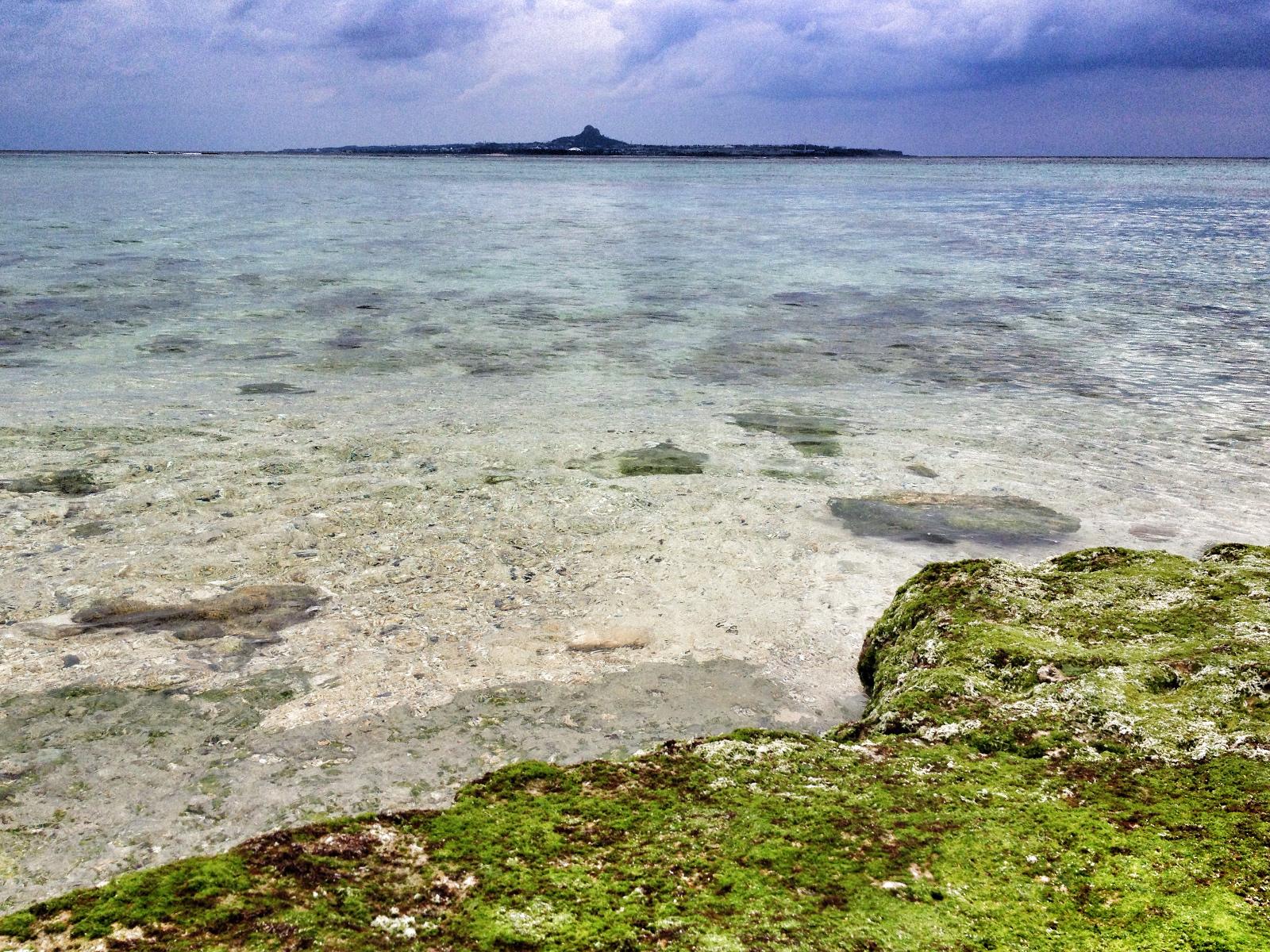 Turtle Beach (Żółwia Plaża), Churaumi, Okinawa, Japonia
