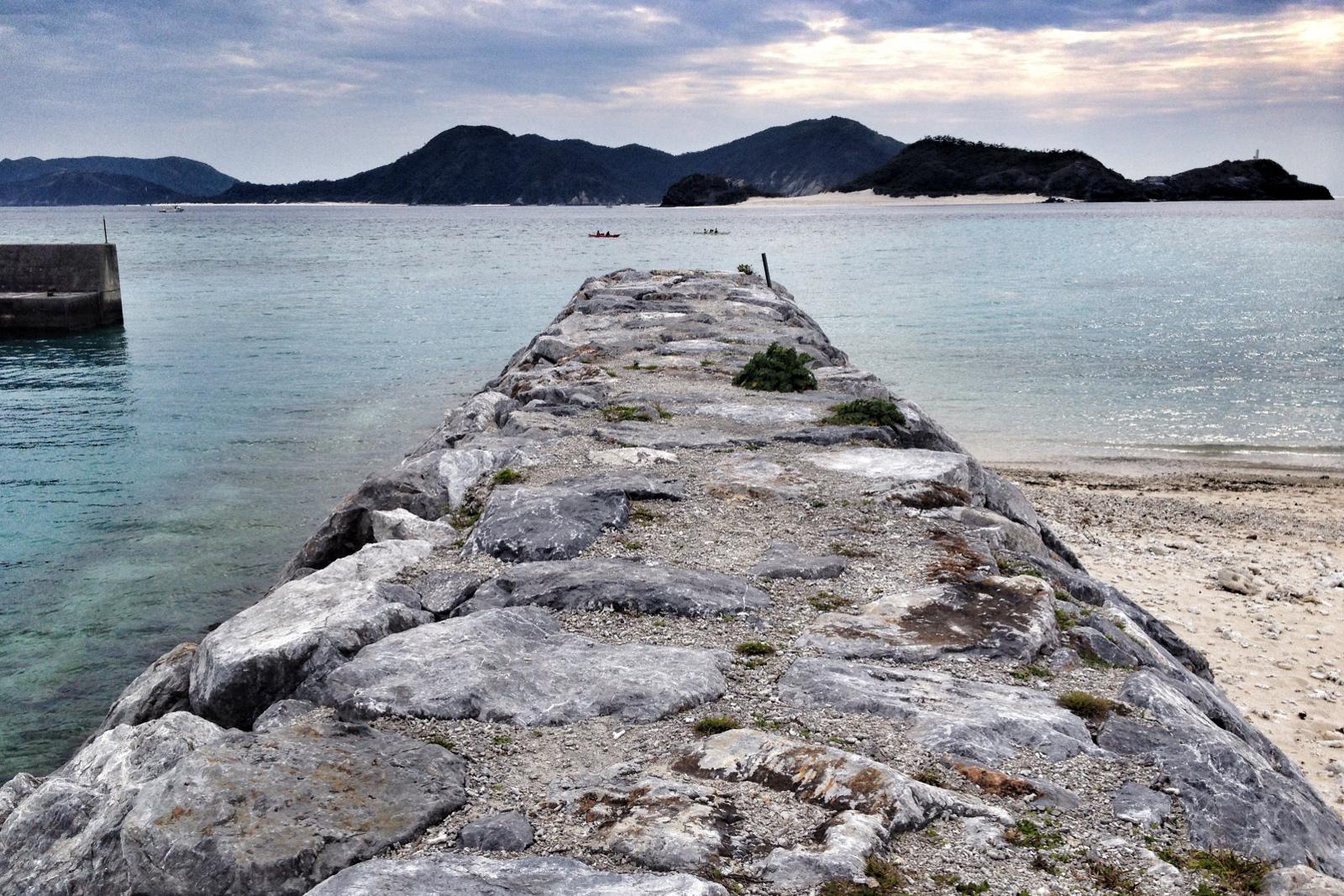 Plaża na wyspie Zamami, Kerama Islands, Okinawa, Japonia