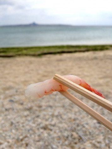 sushi, krewetka, shrimp, ebi