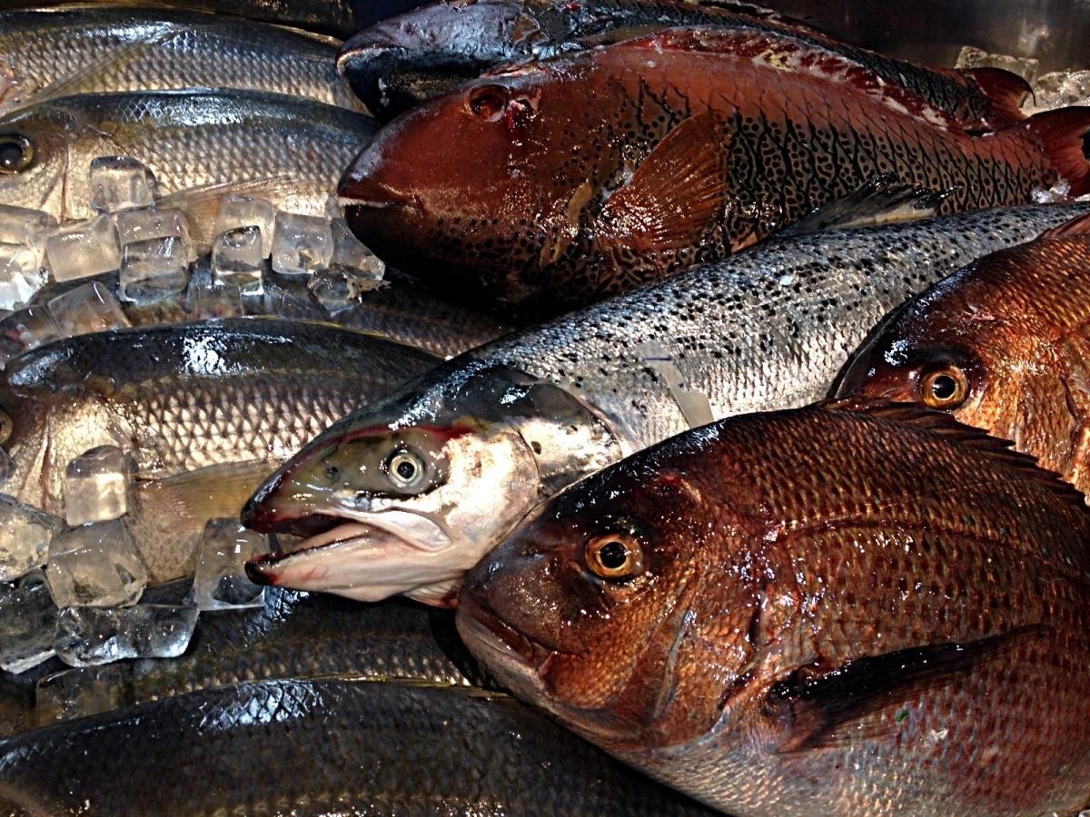Tomari Lyumachi Fish Market Okinawa