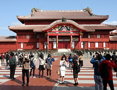 Ciekawe miejsca wJaponii: zamek Shuri-jō (Naha, Okinawa)