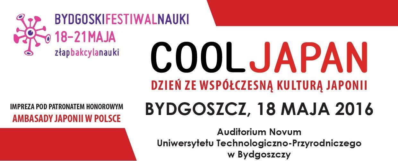 Cool Japan: Dzień zewspółczesną kulturą Japonii – zaproszenie naprezentację