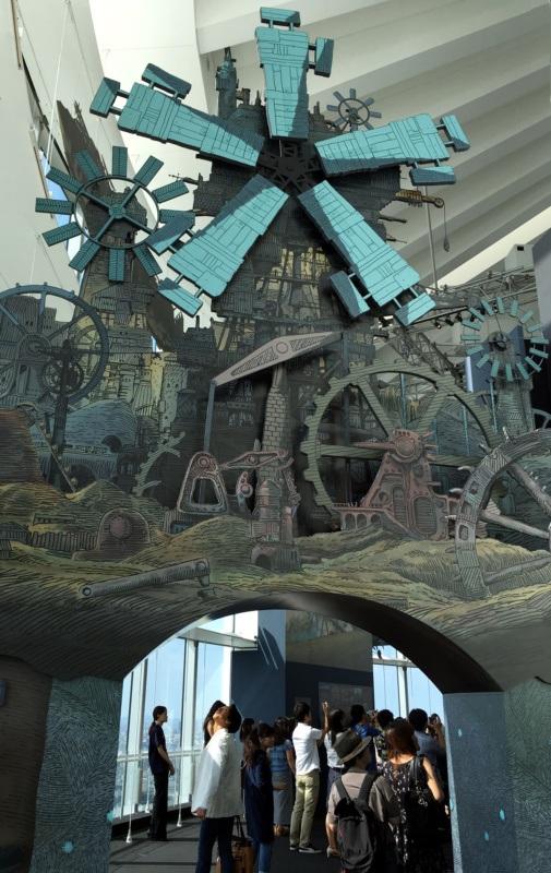 Nausicaä zDoliny Wiatru (Wystawa The Ghibli Expo wRoppongi Hills Mori Tower, Tokio)