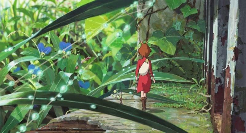 Tajemniczy świat Arietty: Arietta przedziera się przezpiękny ogród (mat. prasowe)