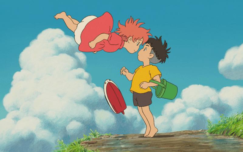 Ponyo / Gake no ue no Ponyo (mat. prasowe), Animacje Studio Ghibli