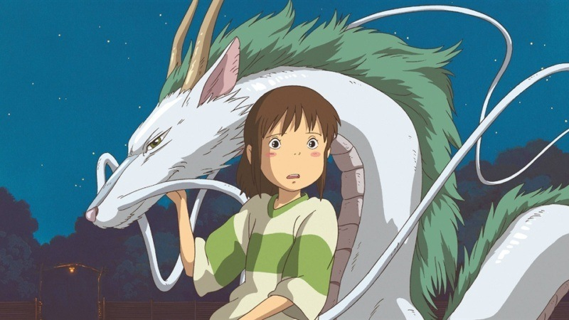 Spirited Away: Wkrainie bogów / Sen toChihiro no kamikakushi (mat. prasowe), Animacje Studio Ghibli