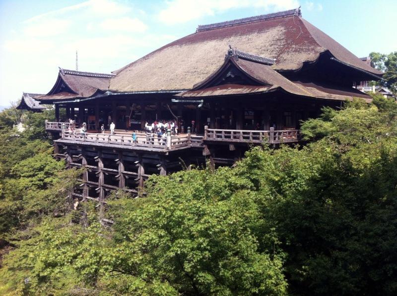 """Kanji tygodnia: woda iświątynia Kiyomizu-dera 清水寺, """"świątyni czystej wody"""", Kioto"""