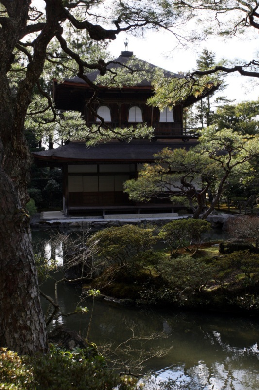 Najpiękniejsze ogrody japońskie wJaponii: ogród przy Srebrnej Świątyni, Ginkaku-ji / Ginkakuji / Ginkakuji Garden (銀閣寺), Kioto, prefektura Kioto