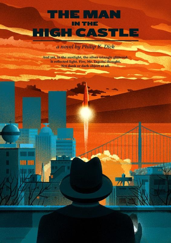 Philip K. Dick: The Man in The High Castle (cover byPrzemek Dębowski)