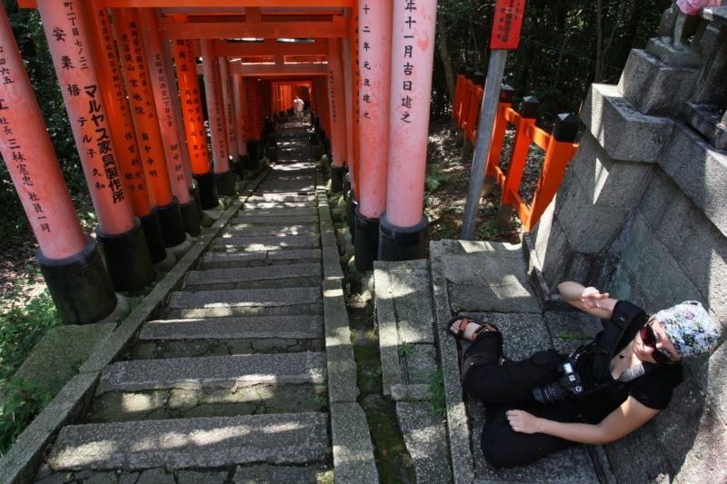Ciekawe miejsca wJaponii: świątynia Fushimi Inari Taisha