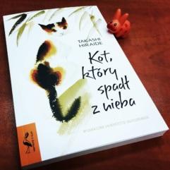 Takashi Hiraide: Kot, któryspadł znieba