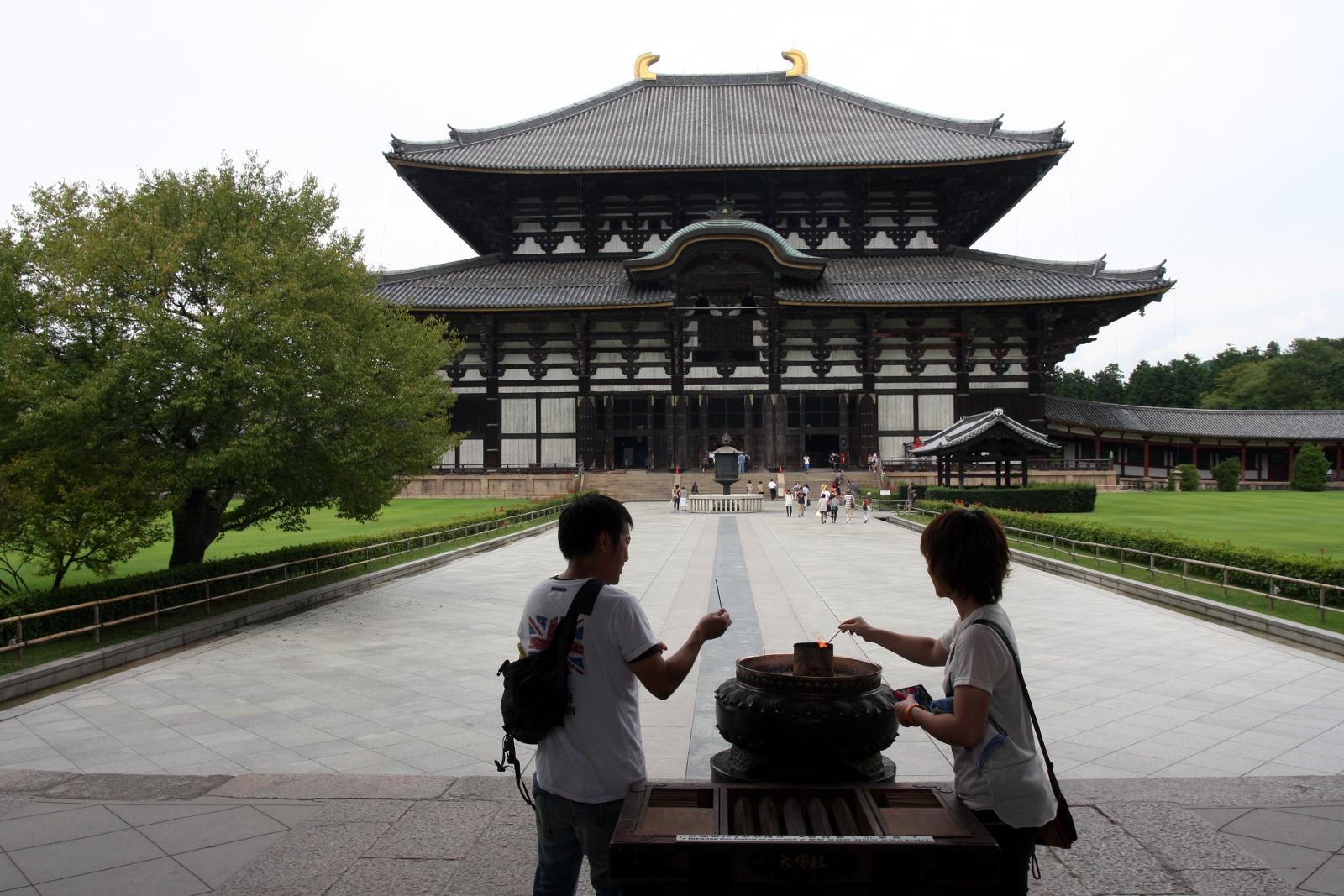Ciekawe miejsca wJaponii: świątynia Tōdai-ji (Nara)