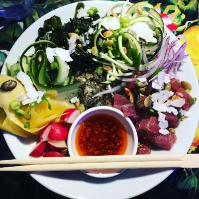 Hawajski poke bowl (Restauracja Raj)