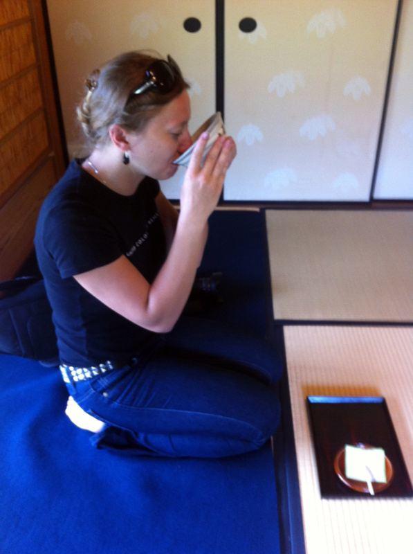 Chakai - nieformalne spotkanie herbaciane w Sōjuan, Himeji, Japonia