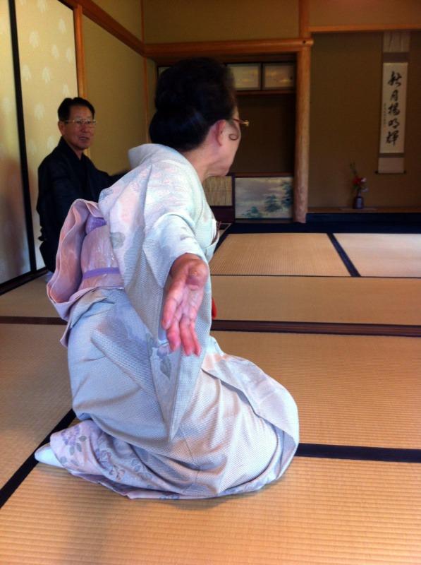 Chakai - nieformalne spotkanie herbaciane w Sōjuan, Himeji, Japonia (ceremonia herbaciana w Japonii)