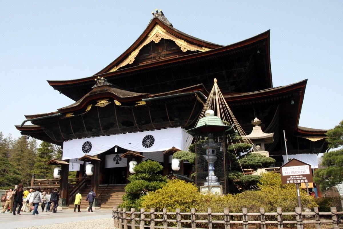 Ciekawe miejsca wJaponii: świątynia Zenkō-ji (Zenkoji), Nagano, Japonia