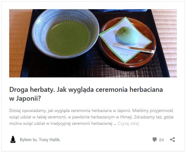 Najlepsze artykuły w2017 roku: ceremonia picia herbaty