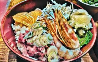 Rodzaje sushi: chirashizushi