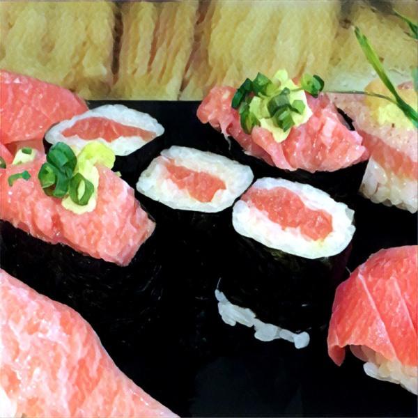 Rodzaje sushi: hosomaki ztuńczykiem