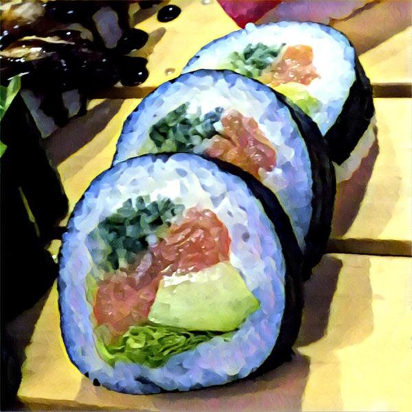 Rodzaje sushi: makizushi (rolowane sushi)