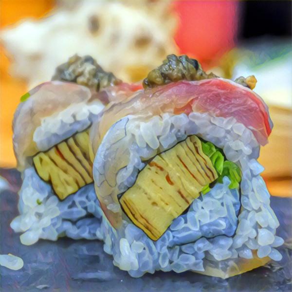 Rodzaje sushi: uramaki