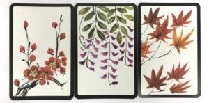 Co tojest hanafuda (花札) - japońskie karty dogry zmotywem kwiatów