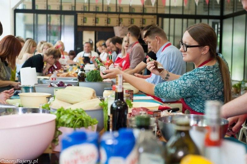 Warsztaty kulinarne Tabasco zGarym Evansem wCookUp, Warszawa