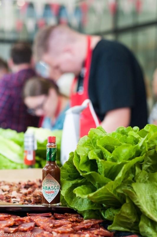 Warsztaty kulinarne Tabasco z Garym Evansem w CookUp, Warszawa