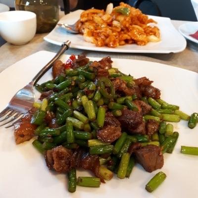 Tian House najlepsza chińska restauracja w Warszawie: golonka