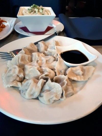 Tian House najlepsza chińska restauracja wWarszawie: chińskie pierożki