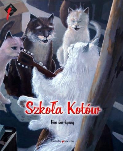 Kim Jin-Kyung: Szkoła kotów. Tajemnica Kryształowej Groty