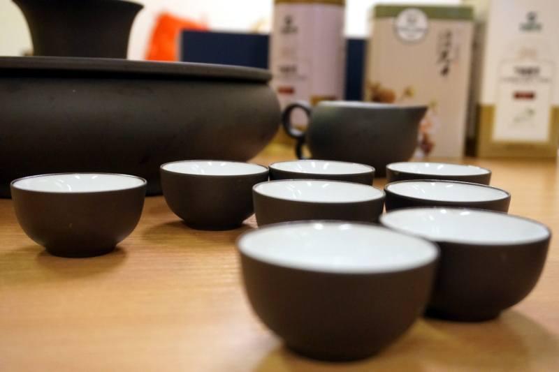 Chińska herbata: zestaw doserwowania chińskiej herbaty