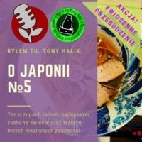 Podcast o Japonii №5 - Ramen, sushi i kuchnia japońska