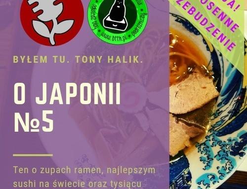 Podcast oJaponii №5 (ten ozupach ramen, najlepszym sushi naświecie itysiącu innych nieznanych pyszności)