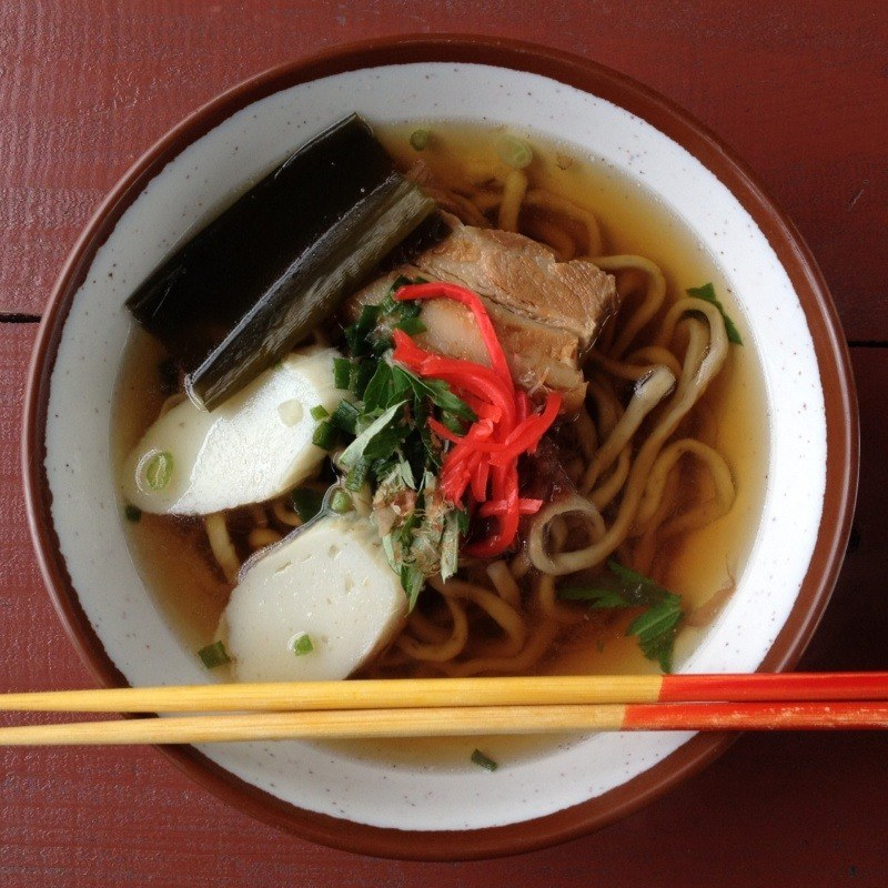 Japońskie makarony: Okinawa soba