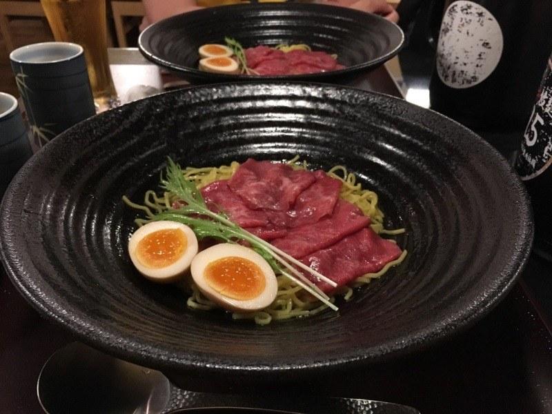 Kobe beef ramen, Osaka, Japonia