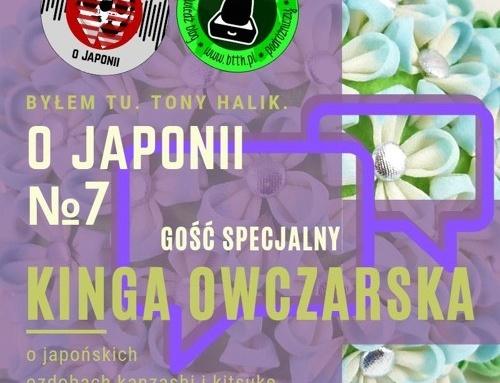 Podcast oJaponii №7 | Kinga Owczarska (ojapońskich ozdobach kanzashi ikitsuke, sztuce zakładania kimono)